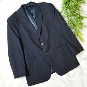 Jos. A. Bank | Navy Traditional Fit Wool Blazer
